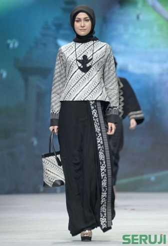 Tips Padu Padan Hijab Dan Batik Seruji