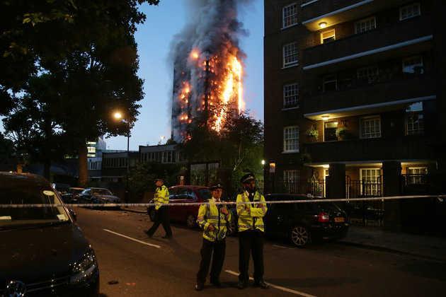 kebakaran london