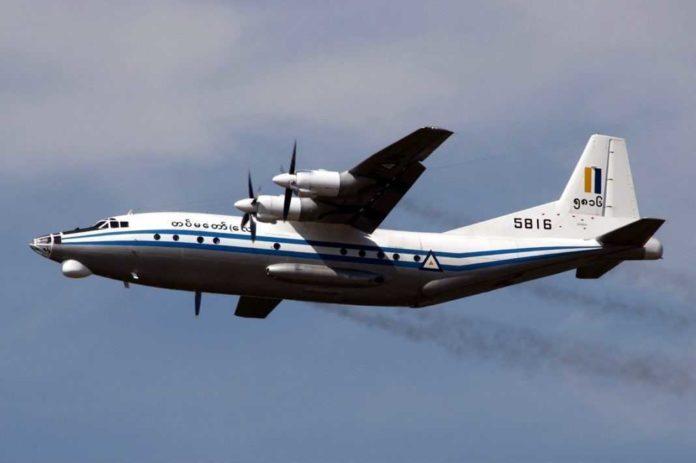 Myanmar shaanx y-8