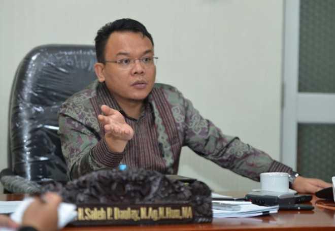 Image result for Wakil Sekretaris Jenderal PAN Saleh Partaonan Daulay