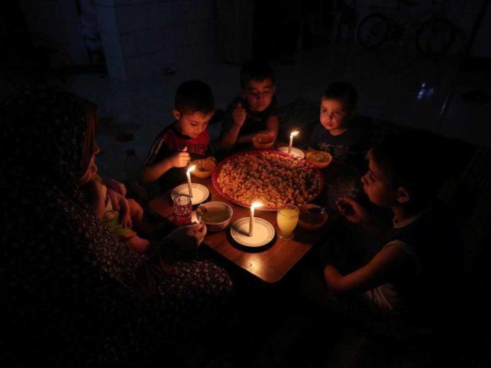 gaza, palestina, pemadaman listrik