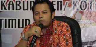 komisioner KPU Jatim Choirul Anam