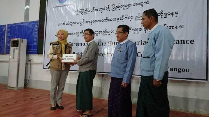 Bantuan Kemanusiaan ASEAN untuk Rohingya