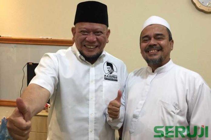 Habib Rizieq dukung La Nyalla