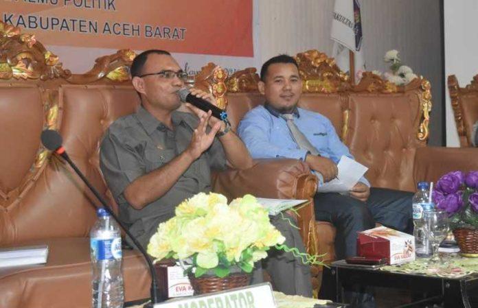 Ketua KIP Aceh Barat Bahagia Idris