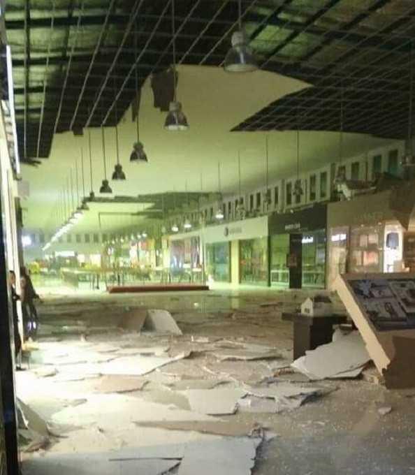 Maluku CIty Mall terdampak gempa 2