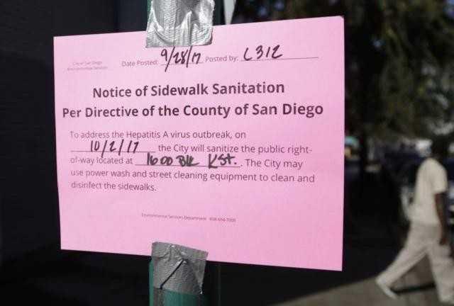 San Diego umumkan wabah Hepatitis A