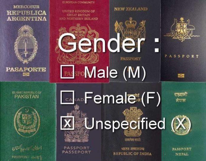 paspor bebas gender