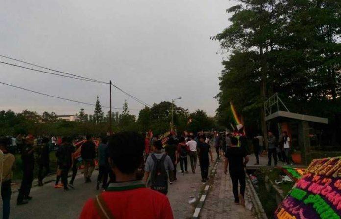 bentrok mahasiswa Unri