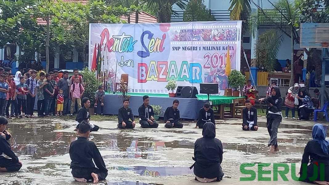 Bazaar dan pentas seni SMPN 1 Malinau Kota