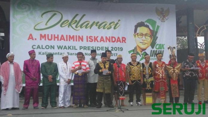Deklarasi Cak Imin Calon Wakil Presiden 2019