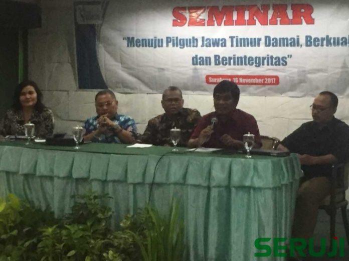 Seminar Menuju Pilgub Jawa Timur Damai