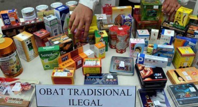 Obat tradisional ilegal