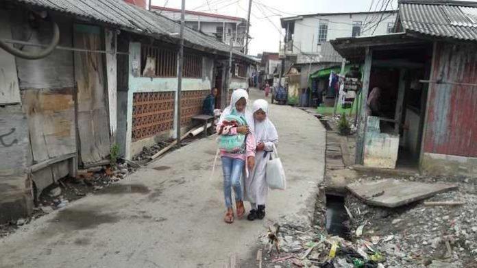 Pemukiman di Muara Angke