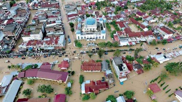 Banjir di Kota Lhoksukon