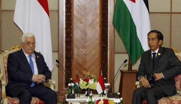 Mahmoud Abbas - Jokowi