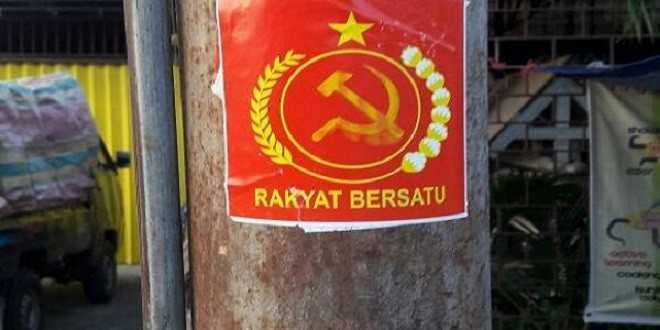Stiker Komunis