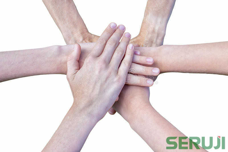 six-arms-unite-hands-each-other-isolated-white-background-59179781