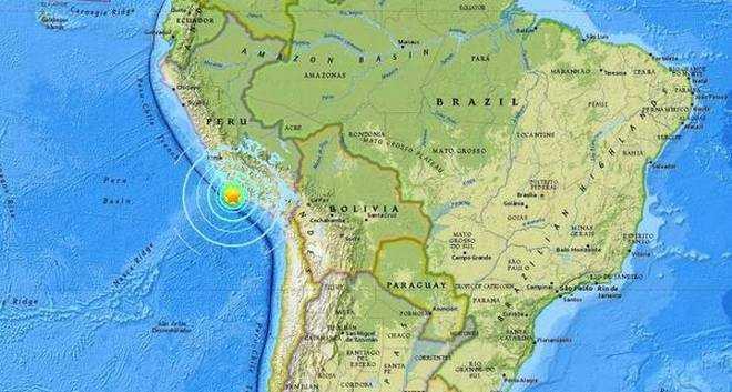 Gempa di Peru