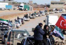 Turki masuki Afrin