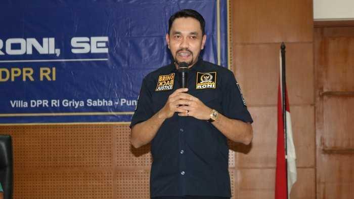 Ahmad Sahroni Photo: Jelang Pilkada, DPR Minta Awasi Peredaran Uang Palsu