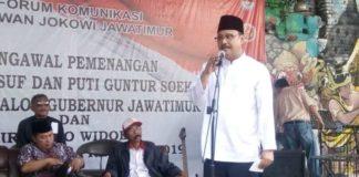 Relawan Jokowi dukung Gus Ipul