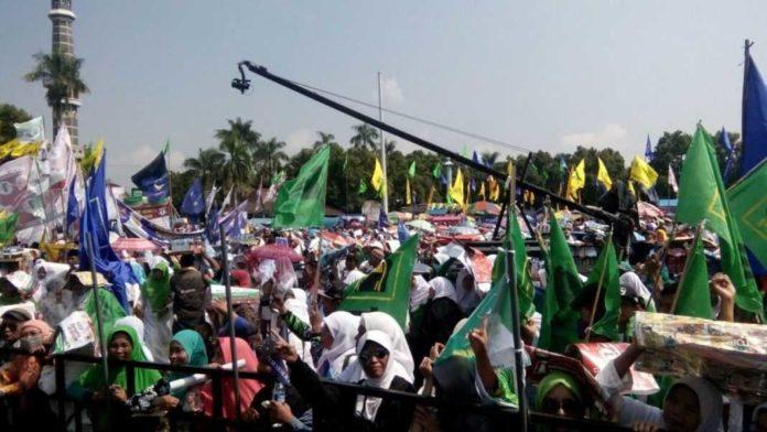 Kampanye AHY di Jombang