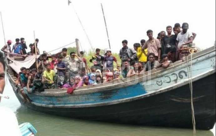 Rohingya terdampar di Aceh