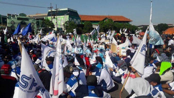 May day 2018 di Surabaya