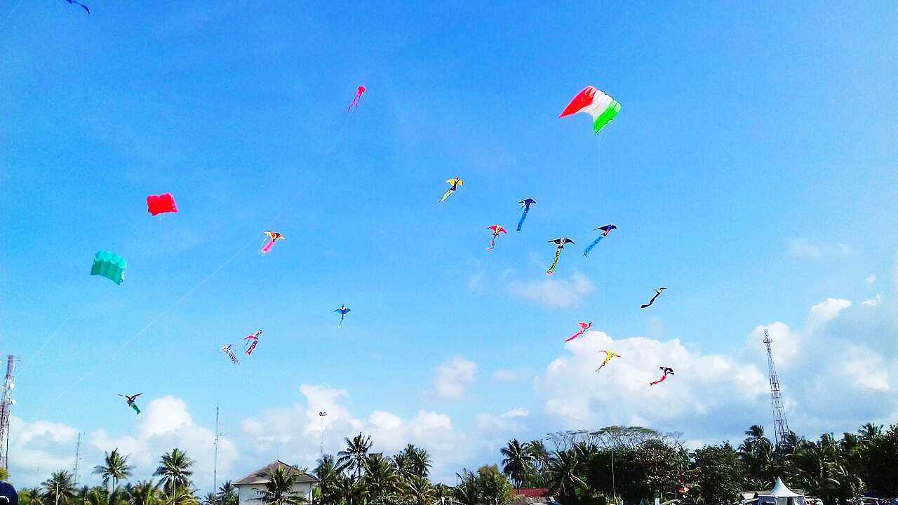 Pangandaran International Kite Festival 2018