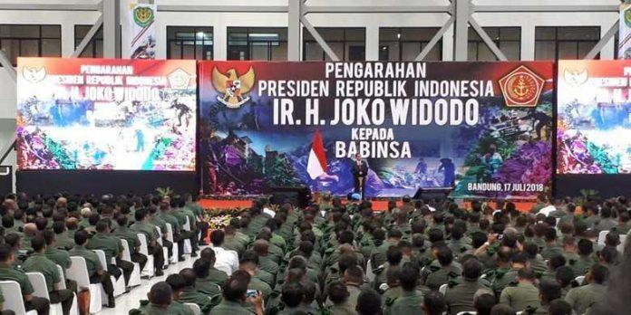 Presiden apel Babinsa