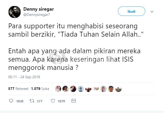 Twit Denny SIregar