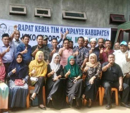 TKK Jokowi Aceh Timur