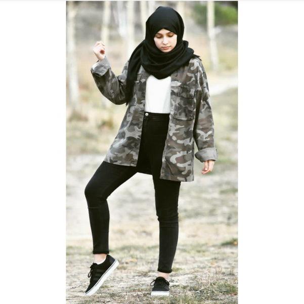 Parka hijab style